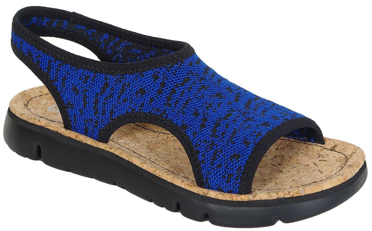 Camper Oruga Knitter sandały jump-negro