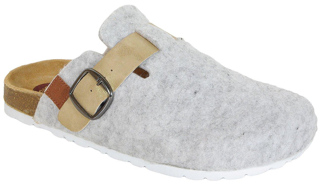Gioseppo Sheep Grey obuwie domowe