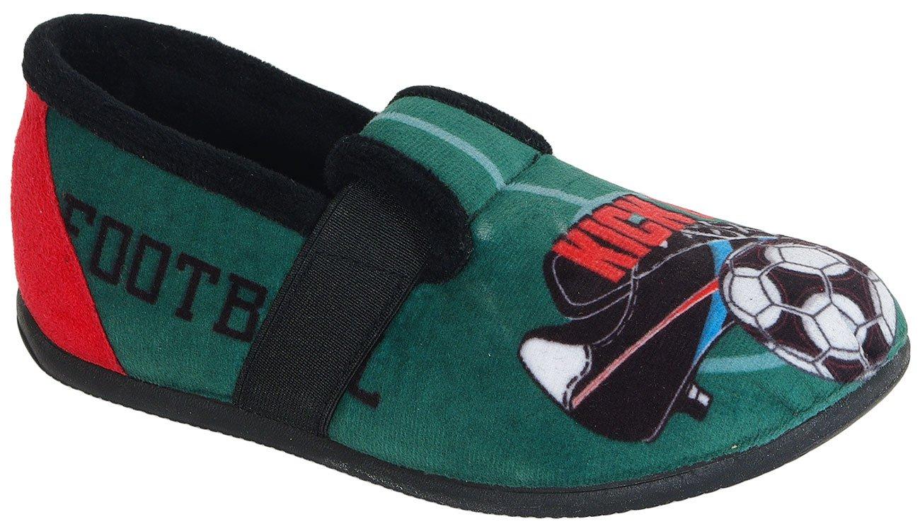 Gioseppo Futbolista Green obuwie domowe