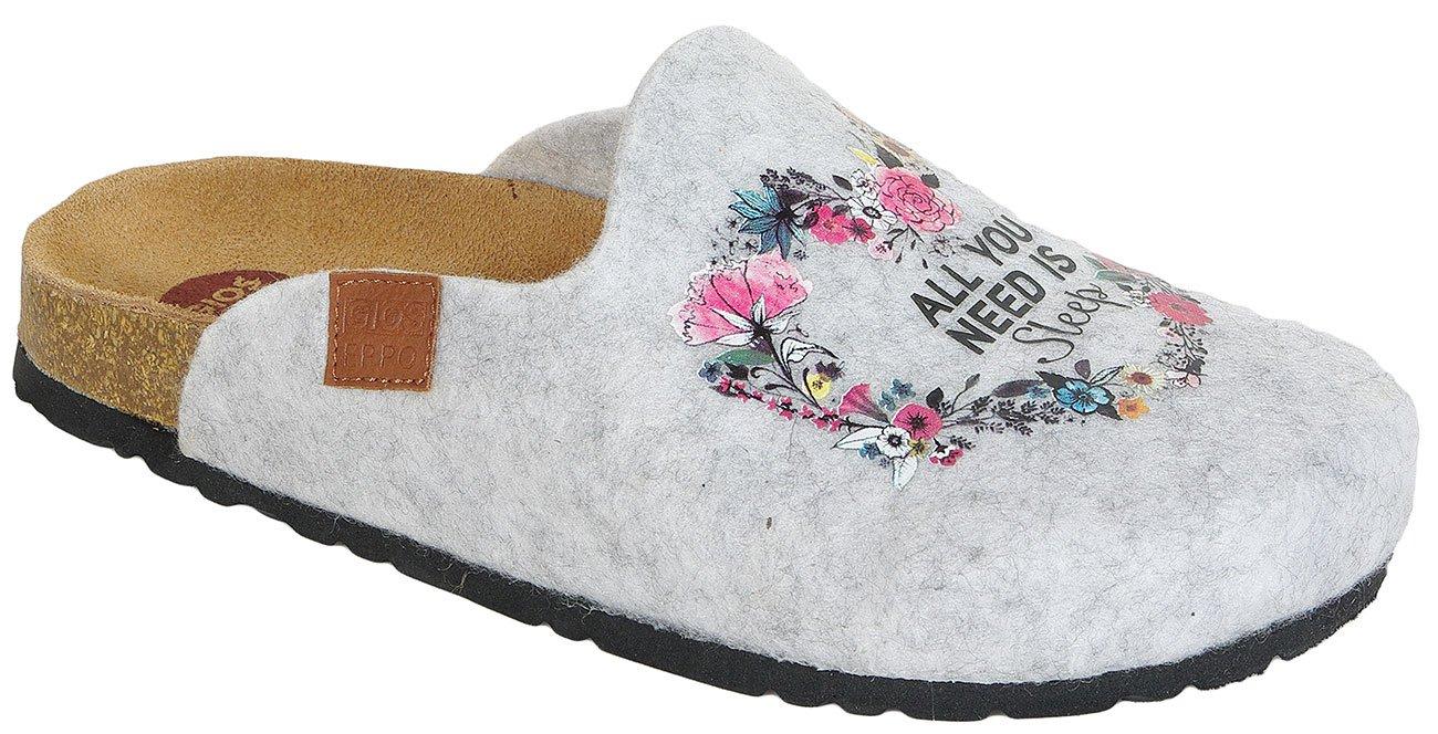 Gioseppo Resting Grey obuwie domowe