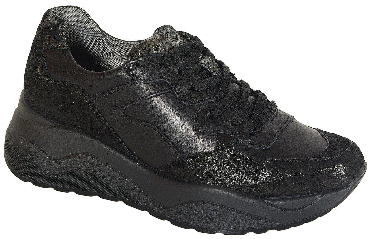 igi&co 41493 sneakers nappa nero