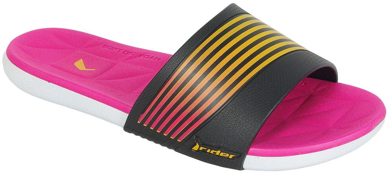 Rider Resort klapki Fem white/black/pink