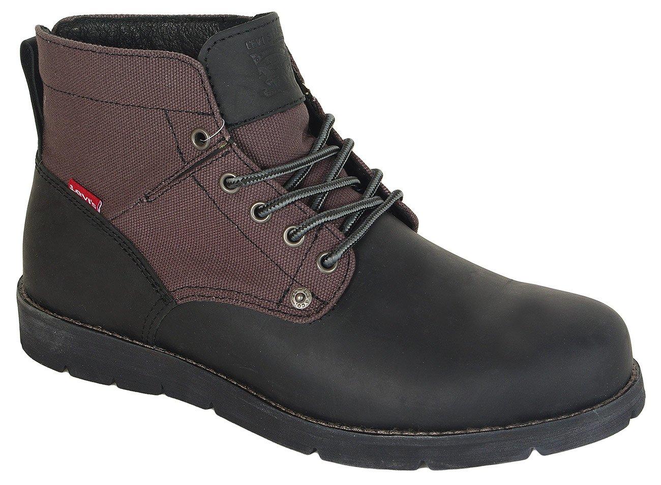 Levis Jax trzewiki brilliant black boots