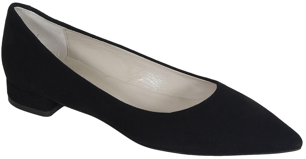Perlato 9581 Velour Noir czółenka