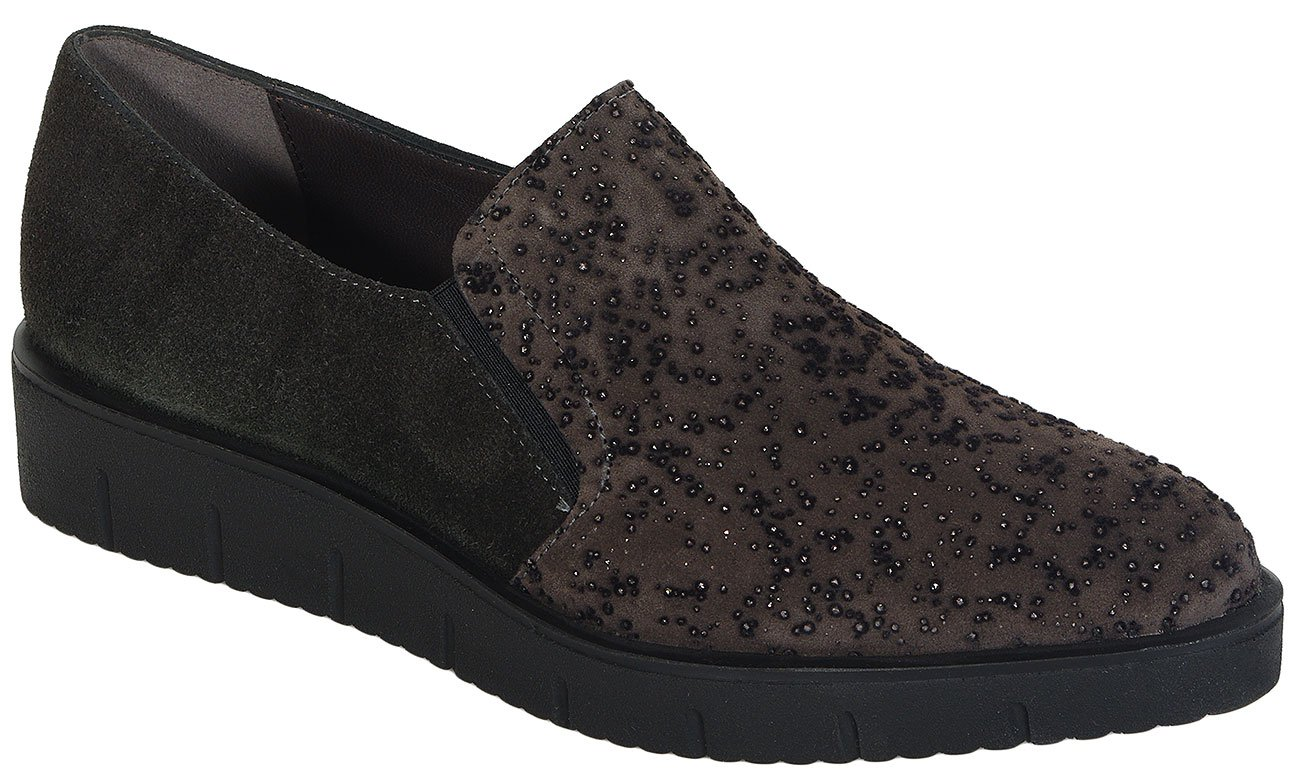 Perlato 9527 Magma/Piuma Antracite slip on