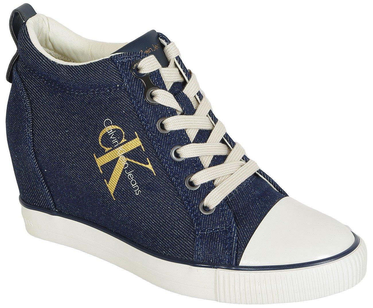 Calvin Klein Jeans Reina Metal Denim sneakers