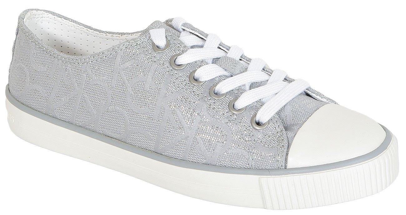 Calvin Klein Jeans Darby Metallic Jacquard L.Silver sneakers