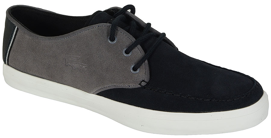 LACOSTE SEVRIN 116 1 0248 CAM DK GRY LTH SNEAKERS