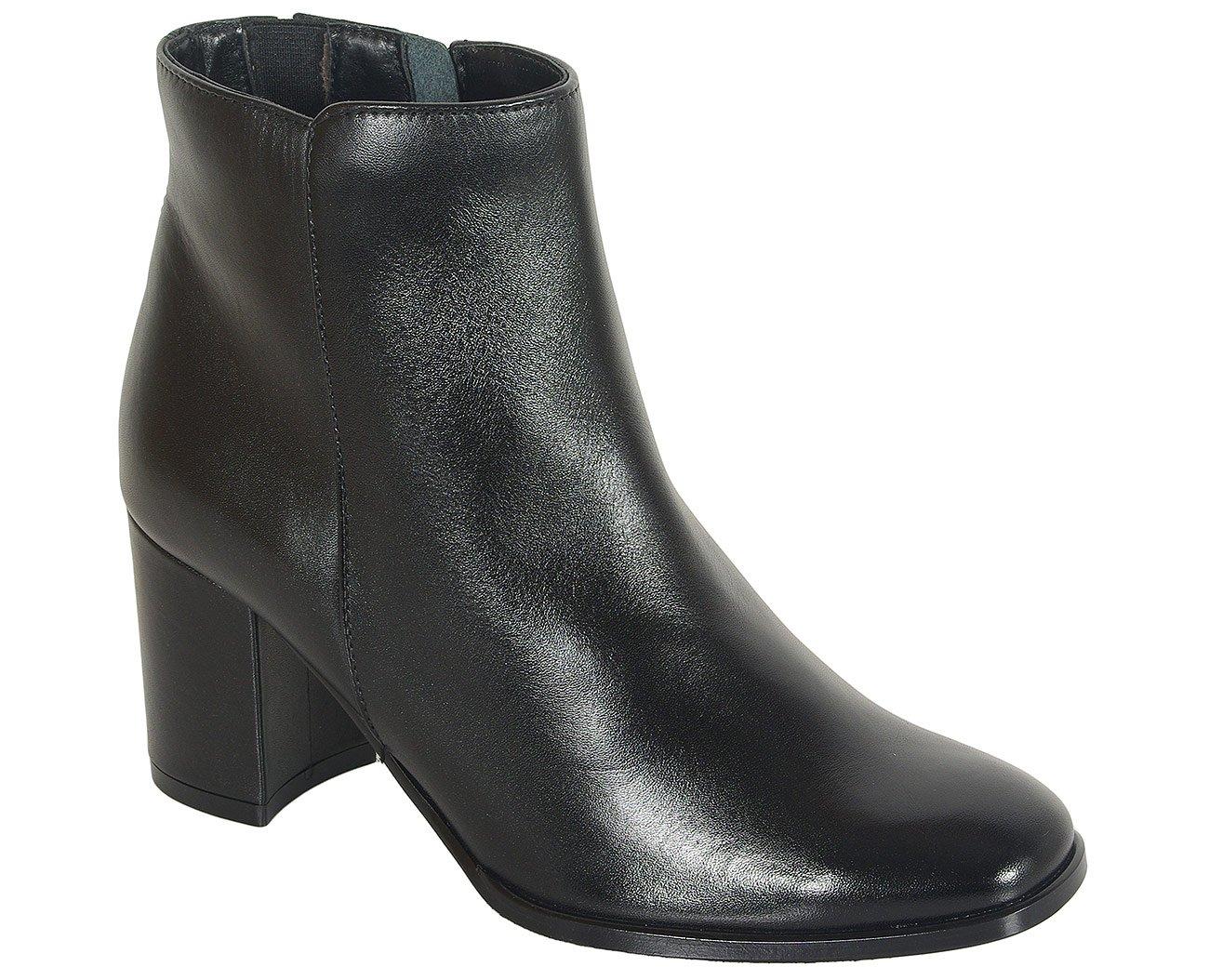 Solo Femme 87641 botki czarny