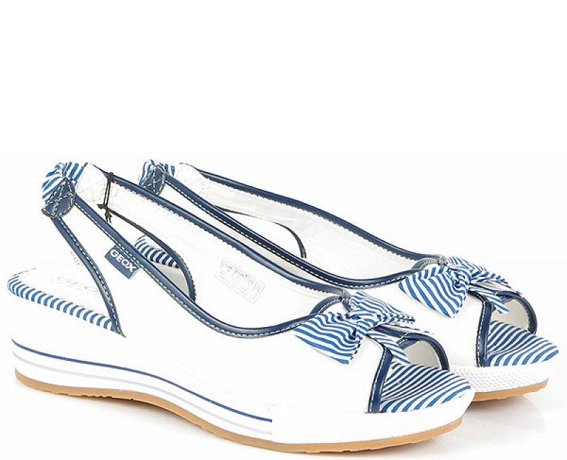 GEOX MAIA G sandały white