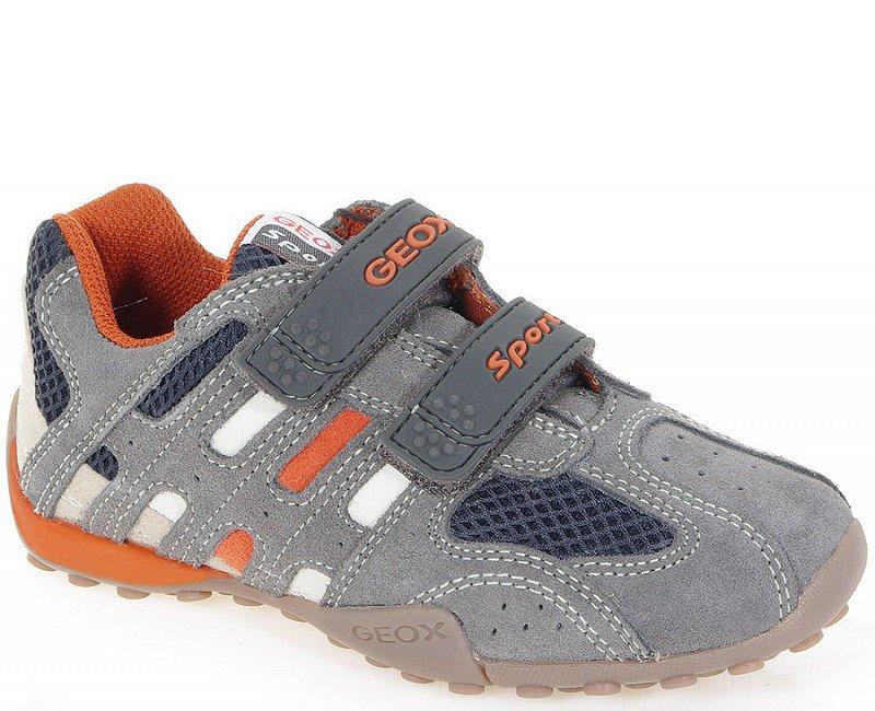 GEOX Snake T sneakers Suede Grey