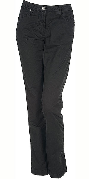 GEOX 30Q WOMAN TROUSERS BLACK SPODNIE
