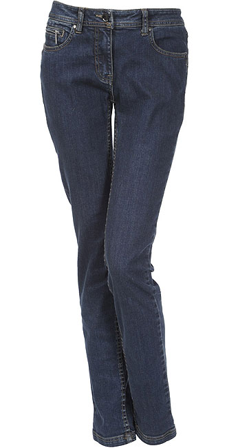 GEOX 30B WOMEN TROUSERS MEDIUM BLUE
